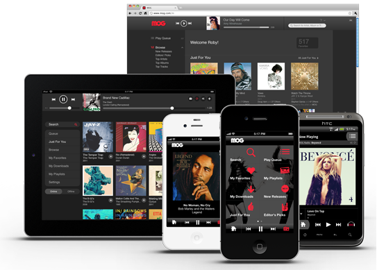 MOG: Telstra's New Music Streaming Service [Review]