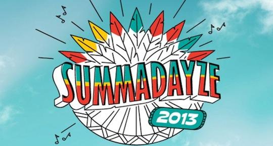 Summadayze 2013: Line Up