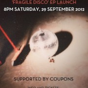 POS_Fragile Disco_Syd Launch Poster