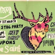 Gig of the Week Acid Stag x MUM The World Bar