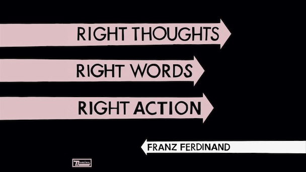 Franz Ferdinand: Right Thoughts, Rights Words, Right Action [Album Review]