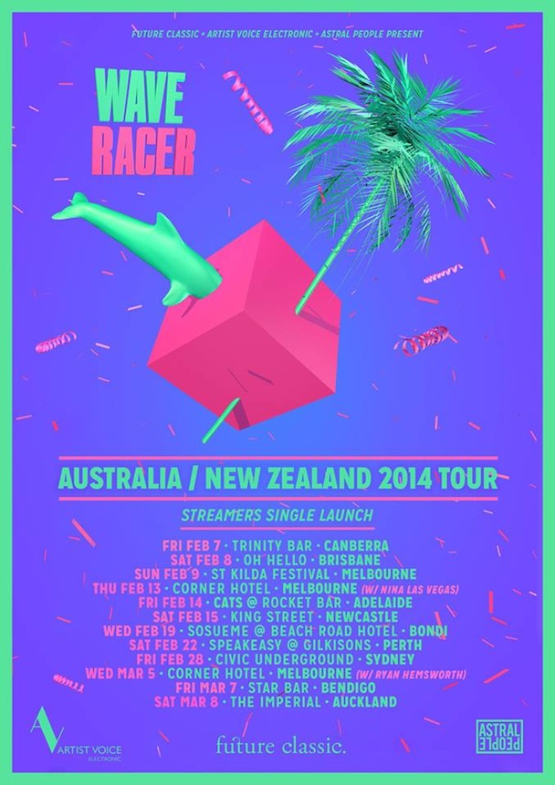 Wave of The Future Poster Wave Racer Tour Poster