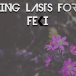 Feki - Nothing Lasts Forever  [New Single] - acid stag