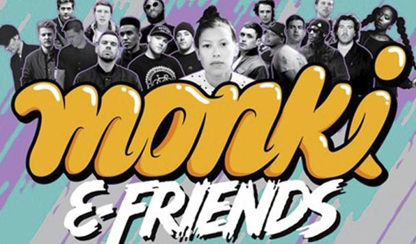 Monki & Friends: EP 2  (ft. Kidnap Kid, Sinden + Joe Goddard)