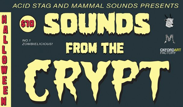 SOUNDS from the CRYPT [Halloween Party]